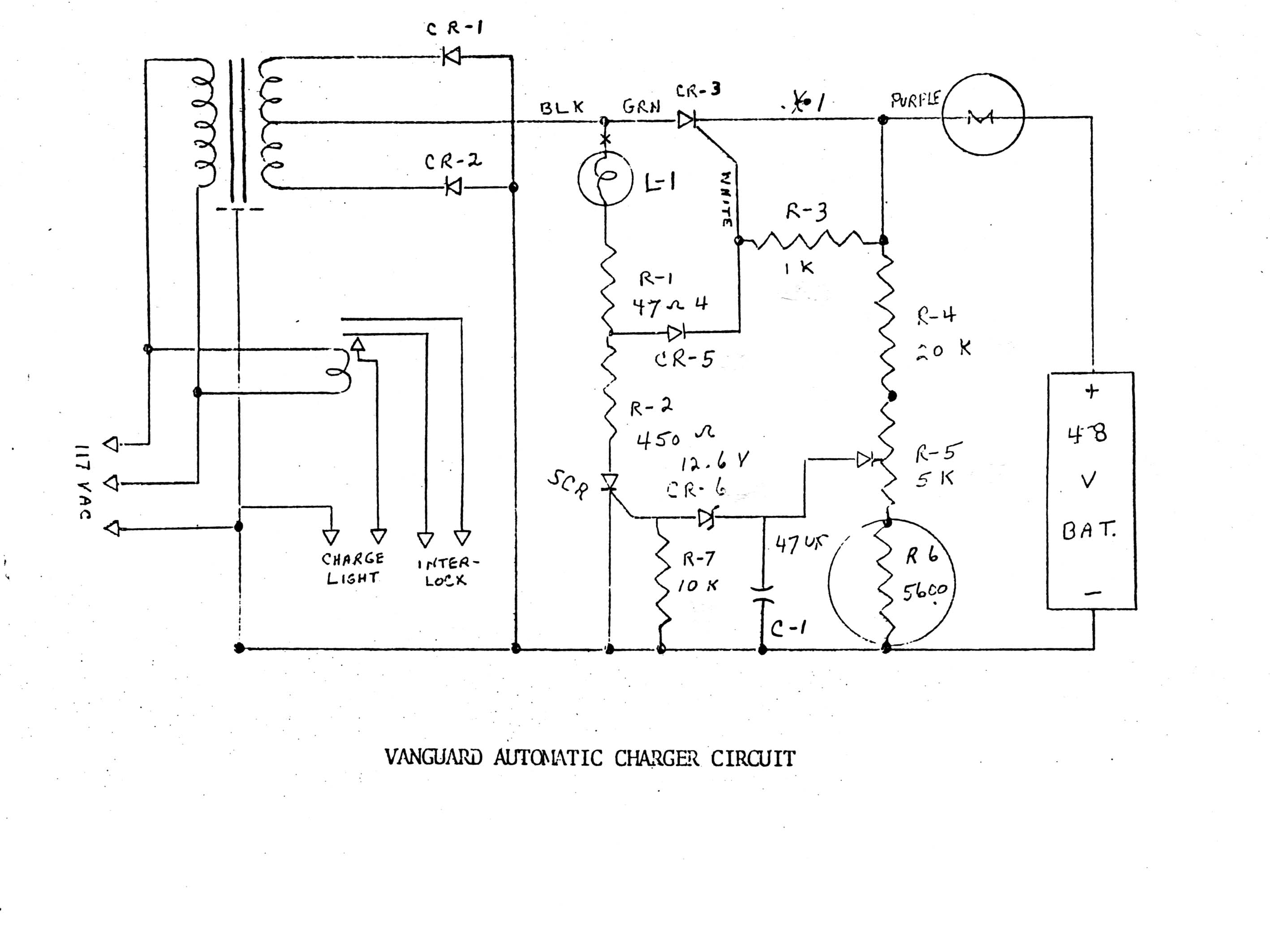 evdl library comuta car and late citicar vanguard automatic charger schematic jpg